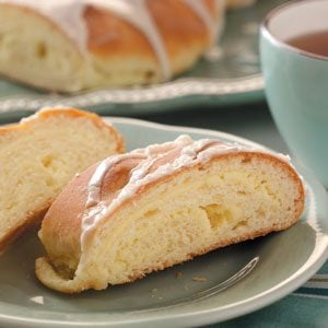 Cheese-Filled Coffee Cakes Recipe