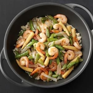 Sweet and Sour Shrimp in a Hurry Recipe