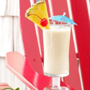 Pineapple Colada Shake Recipe