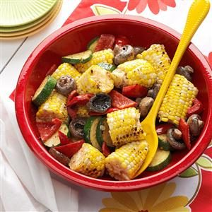 Grilled Corn Medley Recipe