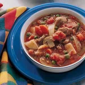 Old-Fashioned Lamb Stew Recipe
