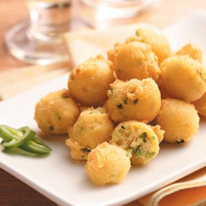 Peppery Hush Puppies Recipe