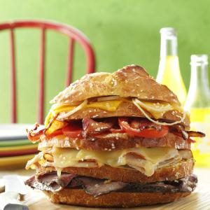 Big Sandwich Recipe