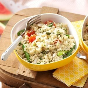 Garden Quinoa Salad Recipe