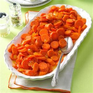 Peach-Glazed Carrots Recipe