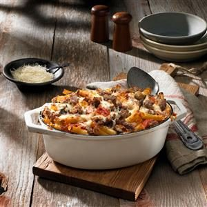 Baked Ziti with Italian Sausage Recipe