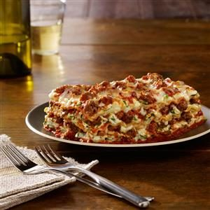 Johnsonville® Italian Sausage Lasagna Recipe