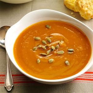Spiced Sweet Potato Soup Recipe