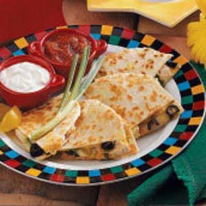 Basic Chicken Quesadillas