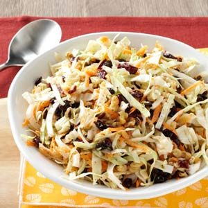 Cranberry Walnut Slaw Recipe