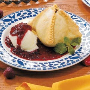 Pear Melba Dumplings Recipe