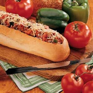 Sausage-Stuffed Loaf Recipe