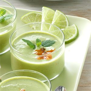 Pretty Pea Soup Cups