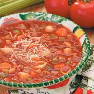 Peasant Pasta Stew Recipe