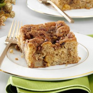 Winter Fruit Coffee Cake