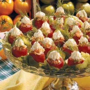 Smoked Salmon Cherry Tomatoes Recipe