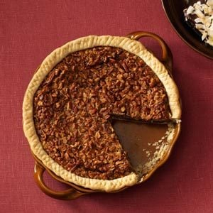 Easy Bourbon Chocolate-Pecan Pie Recipe