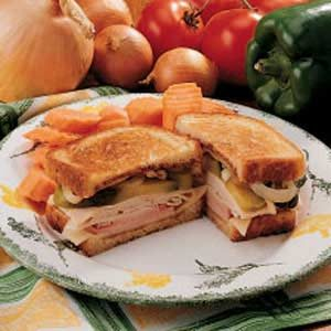 Dilly Turkey Melt