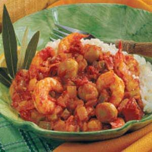 Mushroom Shrimp Creole Recipe