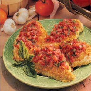 Bruschetta Chicken for Four Recipe