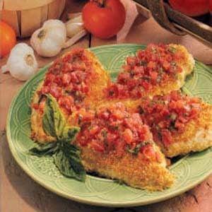 Bruschetta Chicken for Four Recipe