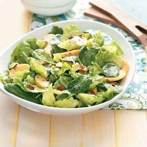 Peachy Tossed Salad Recipe
