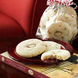 Almond Ginger Cookies Recipe