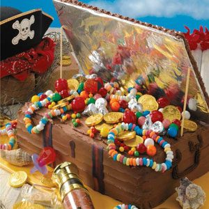 Treasure Chest Birthday Cake Recipe