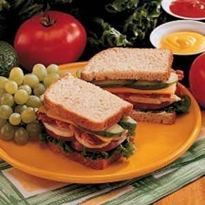 Hearty Chicken Club Recipe