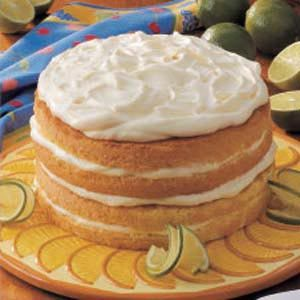 Lime Cream Torte Recipe