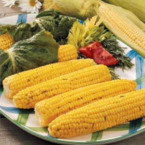 Romaine Roasted Corn Recipe