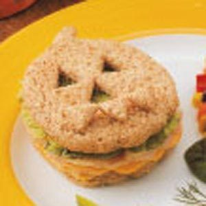 Jack-o'-Lantern Sandwiches Recipe
