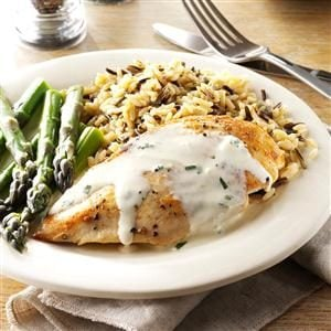 Chicken with Tarragon Sauce Recipe