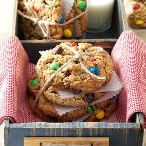 Giant Monster Cookies Recipe