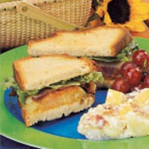 Fried Green Tomato Sandwiches Recipe