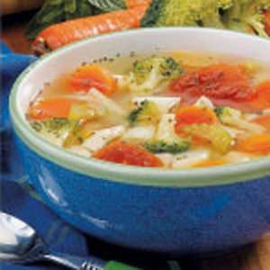 Potluck Chicken Vegetable Soup