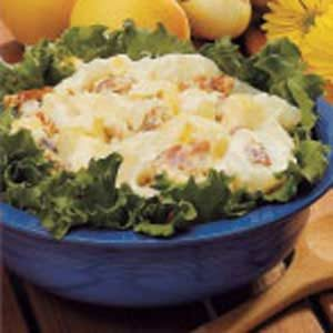 Golden Apple Potato Salad Recipe