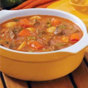 Savory Vegetable Beef Stew Recipe Taste of Home