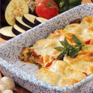 Cheesy Eggplant Bake Recipe