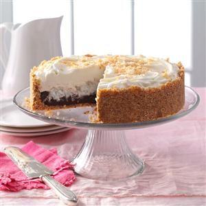 Chocolate & Coconut Cream Torte Recipe