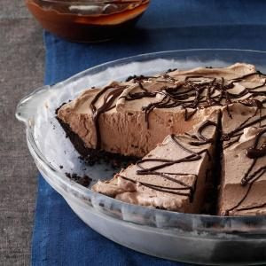 Smooth Chocolate Pie Recipe