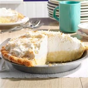 Dar's Coconut Cream Pie Recipe