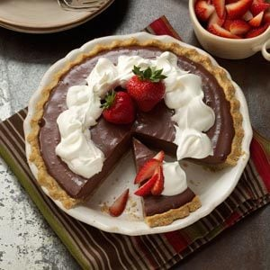 Tofu Chocolate Pie Recipe