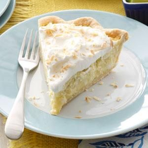 Lime & Coconut Cream Pie Recipe