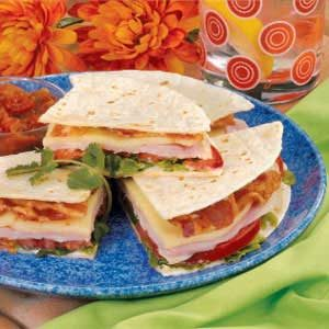 Club Quesadillas Recipe