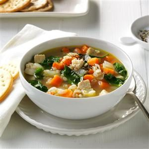 Turkey & Vegetable Barley Soup