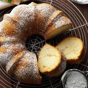Pear Bundt Cake Recipe