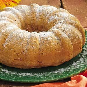 Pear Bundt Cake Recipe