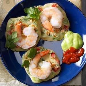 Asian Shrimp Pancakes Recipe