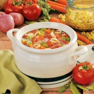 Homemade Italian Vegetable Soup
